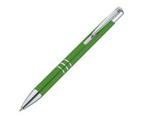 Kugelschreiber aus Metall mit 3 Zierringen